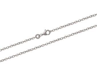 Chain 18 cm Silver 925/000 to add a pendant