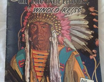Indiansof thd Northwest by Winold  Reiss
