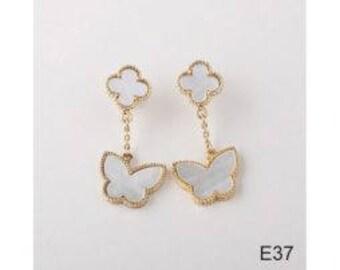 Beautiful Mother of Pearl Drop Earrings