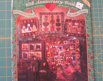 Quilt Book - Mumm's The Word 10th Anniversary Debbie Mumm Quilt Pattern Book