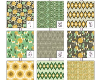 Crib Sheet ... { Florabelle } Joel Dewberry - Yellow Palette