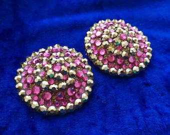 SALE! Pink and gold burlesque pasties