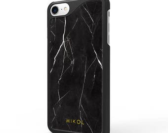 Real Marble iPhone Case, iPhone 8 Case, Iphone X case, Marble iPhone 7 Case, iPhone 6 Case Marble, Phone cases, black marble Case