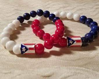 Puerto Rico Pride Bracelet