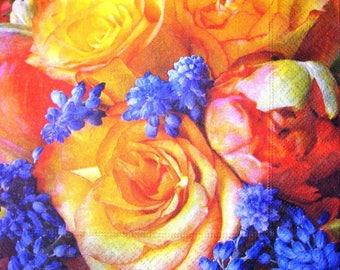 """Towel """"Roses"""""""