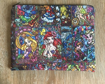 Magical Stained Glass • Zippered Pouches - Medium