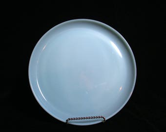 Fire King Dinner Plate, Blue Turquoise, 9 Inch, Excellent Condition,  Mid Century Dinnerware (3 Avail)