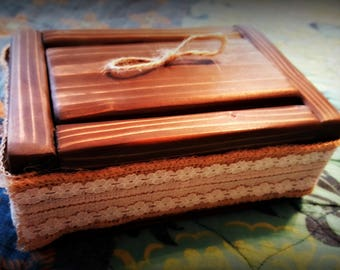 Custom made ring box, Engagement, Ring Bearer box. Personalize as you like!