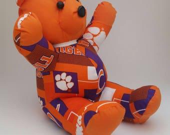 College bear. Clemson University.