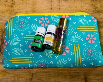 Essential Oil Zipper Pouch