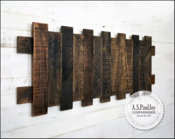 Rustic Pallet Wall Art, Pallet Home Decor, Reclaimed Rustic Pallet Wood  Sign. Farmhouse