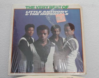 """Little Anthony and The Imperials - """"The Very Best Of Little Anthony & The Imperials"""" vinyl record"""