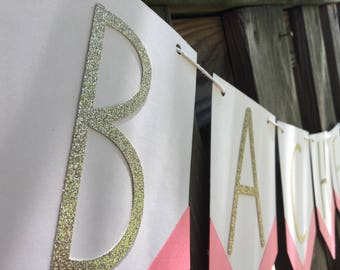Bachelorette pennant banner
