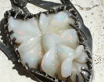 Feather opal