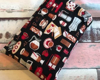 Planner/ Travellers Notebook Medium size Padded Slip Pouch - Book Cover - Book Pouch - Book Sleeve