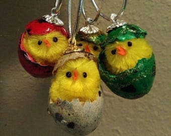 The Just Hatched Collection: Quail Egg Ornaments by Absolutely Stellar