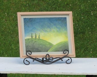 Original Watercolor Framed Artwork