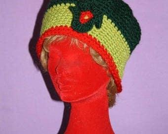 Quality wool crochet Beanie