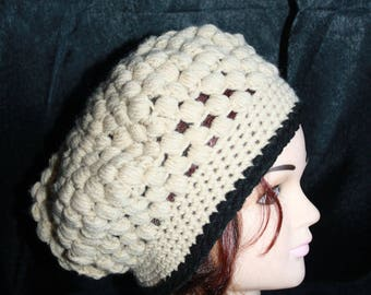very nice stitch crochet beret