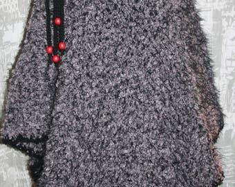 Super warm and stylish poncho