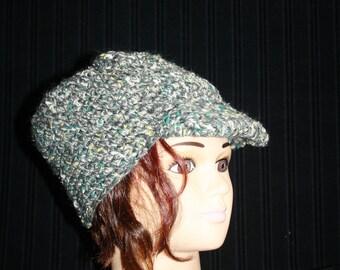 Cap crochet head circumference 52-54 cm (not more)