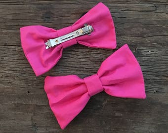 Pink Pop Hair Bow