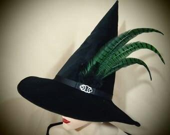 """Wizard Hat """"Knockturn"""""""