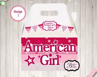 10 American Gal party boxes