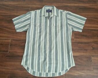 80s Wrangler Western Button up shirt!