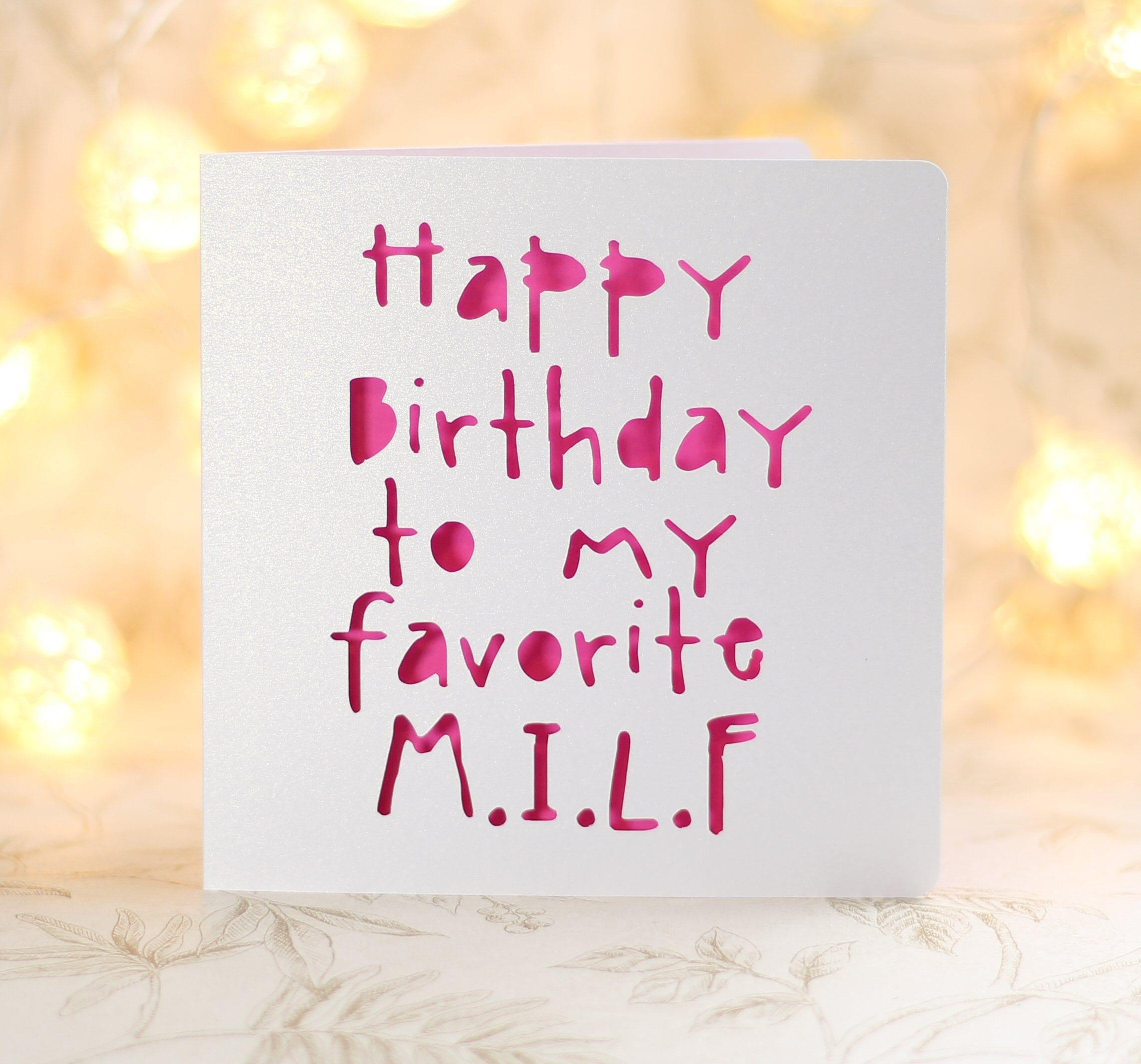 Happy birthday fuck face mature birthday card Funny Card