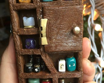 Miniature Magical Apothecary Cabinet