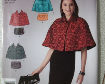 Simplicity 2536 Misses size A 10-22 capelet and bag