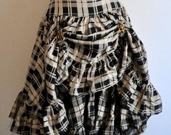 Skirt short Steampunk dandy