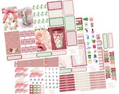 Planner Sticker Kits / Rain Romance / Planner Sticker / Big Happy Planner Stickers / Weekly Sticker Kit / BHP4