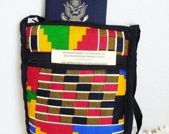Travel wallet, passport holder, travel organizer, passport wallet, Travel Wallet Organizer / Large  Wallet / Organizer
