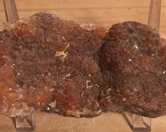Red Quartz Crystal Cluster,  Healing Crystals, Healing Stones
