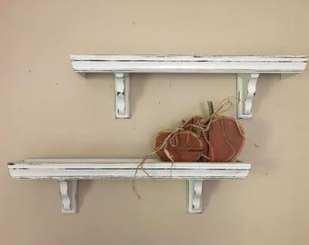 Rustic Wooden Shelves