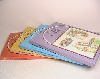 Books, Lot of Children's Reading Learning Books, My Fun With Learning Books