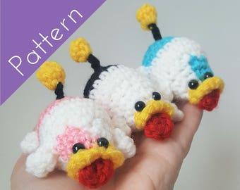 Poochy Pups Amigurumi Crochet PATTERN- Yoshi's Woolly World