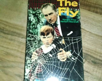 Vintage The Fly with Vincent Price VHS