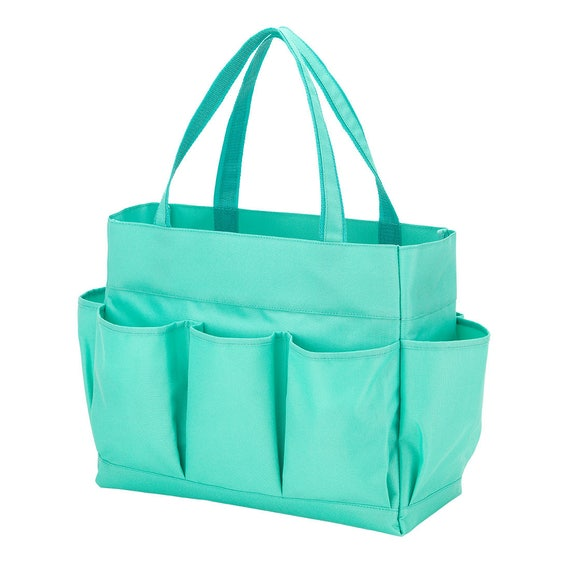 mint utility carry all pocket oversized bag monogrammed tote bag beach bag pool bag summer bag monogrammed gift