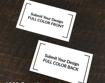 Your Design - Printed Business Cards (Set of 1000)
