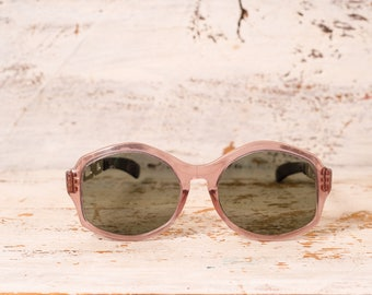 CIJ Sunglasses vintage pink frame summer party accessory Women's sunglasses summer outdoors vintage frame oversized eyewear Retro Sunglasses