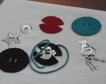 Conchos Suede Embellishments Rope Belt Making Supplies