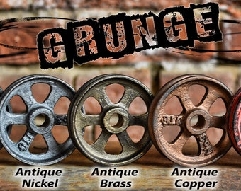 Grunge Pulley Wheel - Pulley for Light - Barn Door Hardware - Cast Iron Pulley - Metal Pulley - Pulley Light Parts - Best Quality