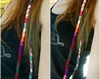 Very thick and long Hairwrap/Ateba/faux-dread
