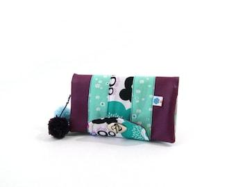 Purple fantasy wallet for women