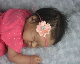 Lil Treasure Reborn Doll By Laura Lee Eagles BEAUTIFULLY sculpted w/ COA !