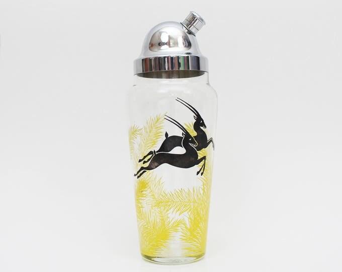 Vintage 1950s Mid Century Modern Cocktail Shaker
