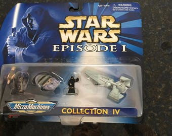 Star Wars Episode I Micro Machines Collection IV